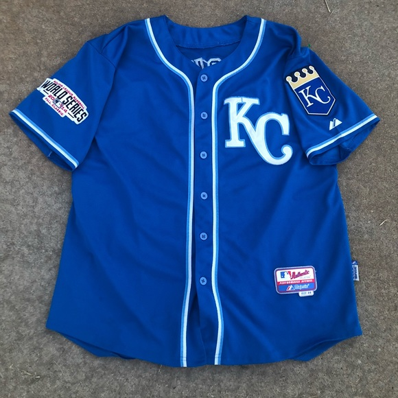 save off 37dde 0af9b Majestic Kansas City Royals Bo Jackson Jersey
